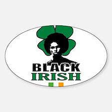 Black Irish Rectangle Decal
