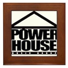 Power House Framed Tile