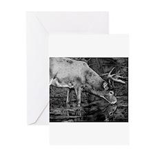 Deer Drawing 2013 Greeting Card