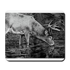 Deer Drawing 2013 Mousepad