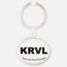 Unique Country fair Oval Keychain