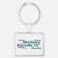 Cool Country fair Landscape Keychain