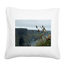 Irish Landscape Square Canvas Pillow