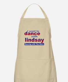 I Want to Dance with Lindsay Apron