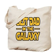 Best Dad in the galaxy SW Tote Bag