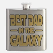 Best Dad in the galaxy SW Flask