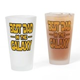 Best dad galaxy Pint Glasses