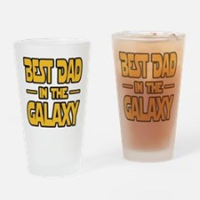 Best Dad in the galaxy SW Drinking Glass
