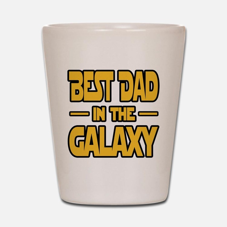 Best Dad in the galaxy SW Shot Glass