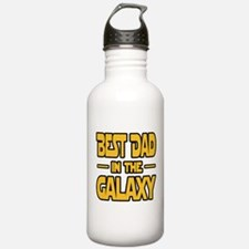 Best Dad in the galaxy SW Water Bottle