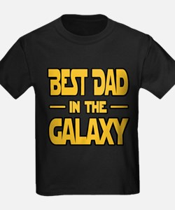 Best Dad in the galaxy SW T-Shirt