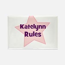 Katelynn Rules Rectangle Magnet