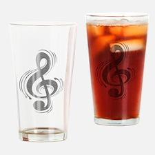 Clef Woodsteel Drinking Glass