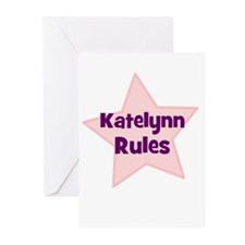 Katelynn Rules Greeting Cards (Pk of 10)
