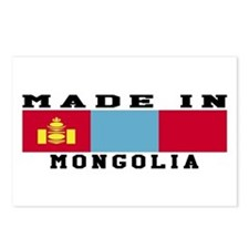 Mongolia Made In Postcards (Package of 8)