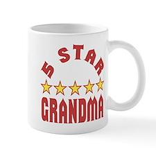 5 Star Grandma Center Mug