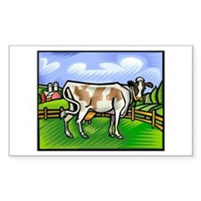 It's a Cow! Rectangle Decal