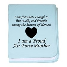 AF Brother Fortunate baby blanket