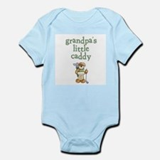Grandpa's Little Caddy Infant Creeper Body Suit