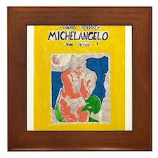 miguel angelo Framed Tile