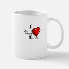 I Love Pope Francis Small Small Mug