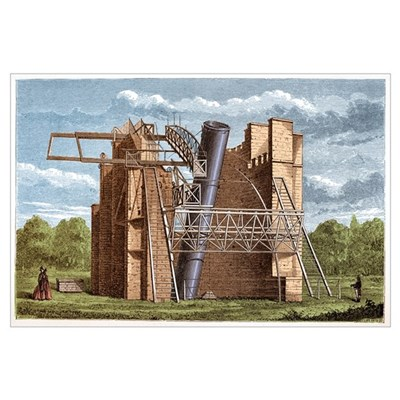 Lord Rosse's Great Telescope Framed Print