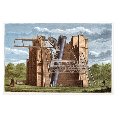 Lord Rosse's Great Telescope Poster