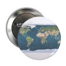 """World Map 2.25"""" Button"""