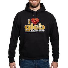 I Heart Gleb Savchenko Dark Hoodie