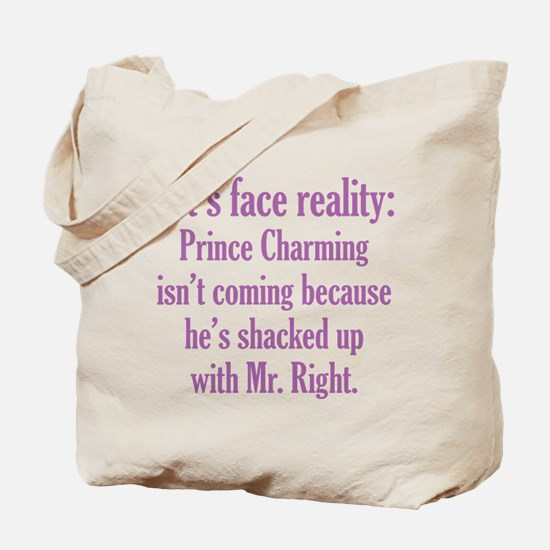 Prince Charming & Mr. Right Tote Bag