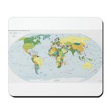 World Atlas Mousepad