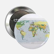 """World Atlas 2.25"""" Button"""