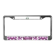 Happy Easter 2 License Plate Frame