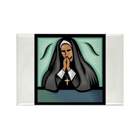 It's a Nun! Rectangle Magnet