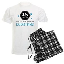 15 Year Anniversary Butterfly Pajamas