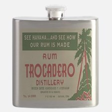 Cuban Rum Distillery Flask