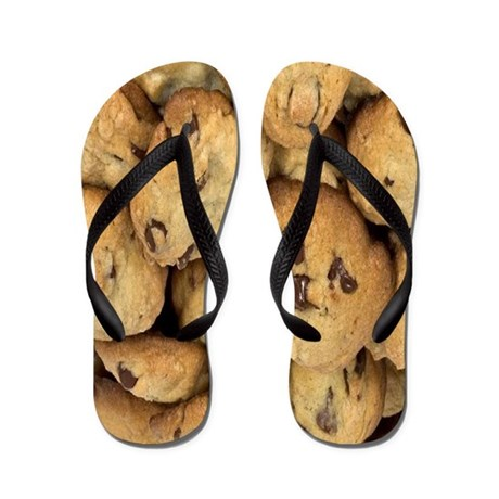 Mama's Chocolate Chip Cookie Flip Flops