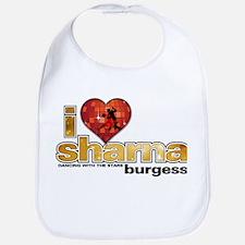I Heart Sharna Burgess Bib