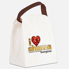 I Heart Sharna Burgess Canvas Lunch Bag
