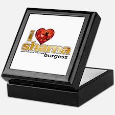 I Heart Sharna Burgess Keepsake Box