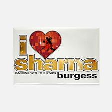 I Heart Sharna Burgess Rectangle Magnet