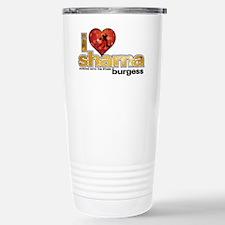 I Heart Sharna Burgess Stainless Steel Travel Mug