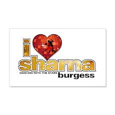 I Heart Sharna Burgess 22x14 Wall Peel