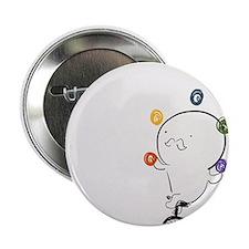 "Stache Juggling 2.25"" Button"