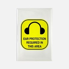 Ear Protection Rectangle Magnet