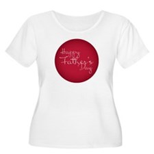 Happy Father´s Day Plus Size T-Shirt