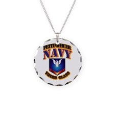 NAVY - PO3 Necklace