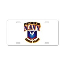 NAVY - PO3 Aluminum License Plate