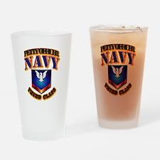 NAVY - PO3 Drinking Glass