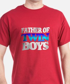 Father of twin boys T-Shirt